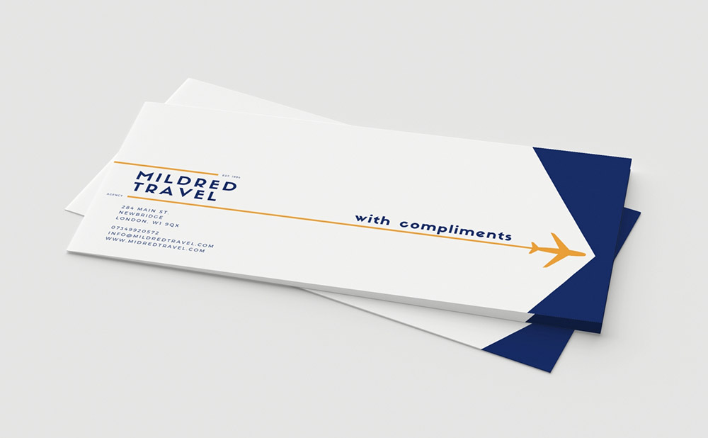 Compliment Slips 100 Gsm