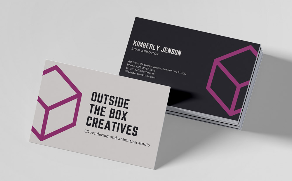 Matt Laminated Business Cards Online