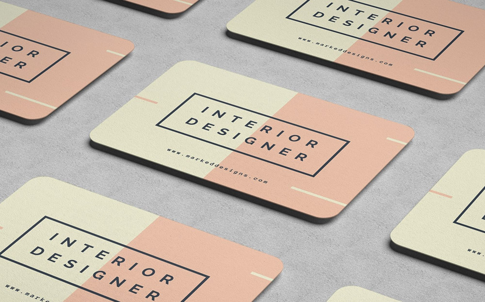 Round Corner Business Cards Online