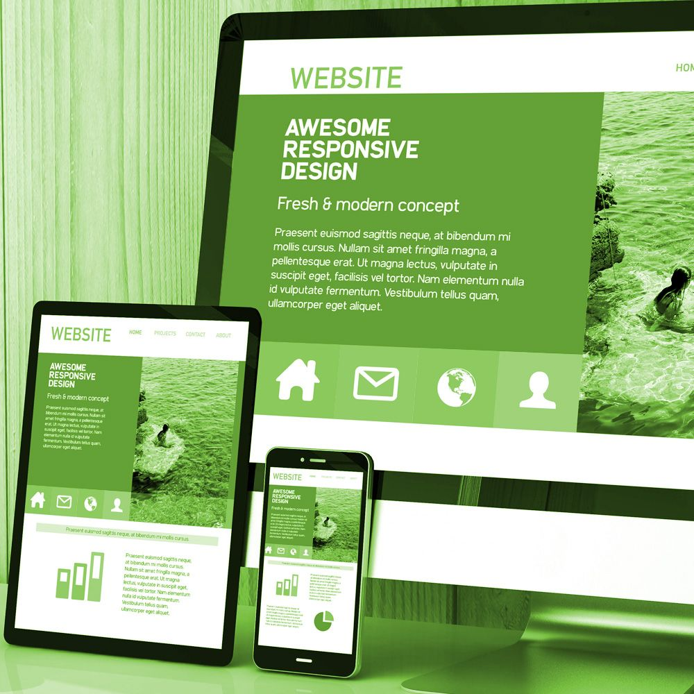 Three Page Website Design